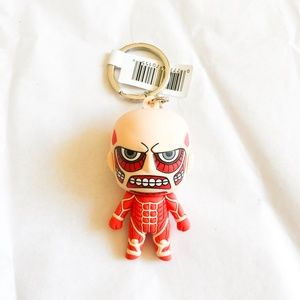 Anime Attack On Titan Colossal Titan Keychain